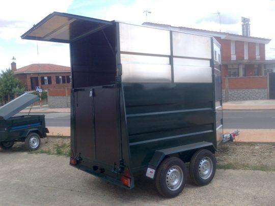Remolque Aluminio van para caballos
